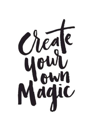 Create your own magic quote poster