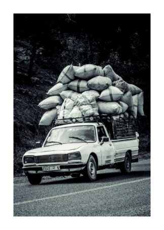 Fully loaded car poster