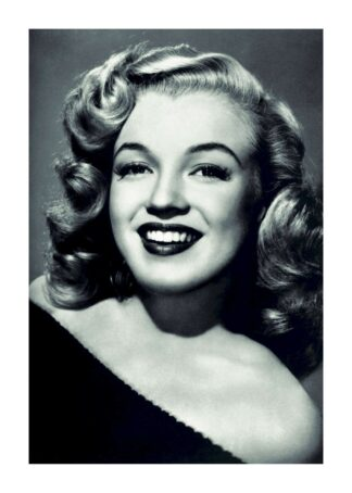 Marilyn Monroe young smile poster