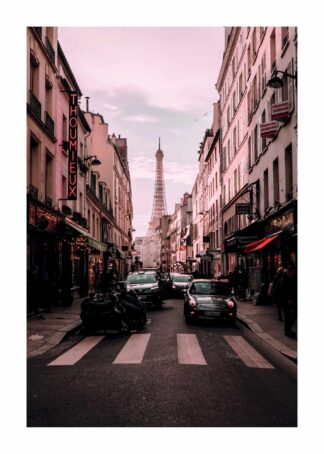 Streets of paris poster