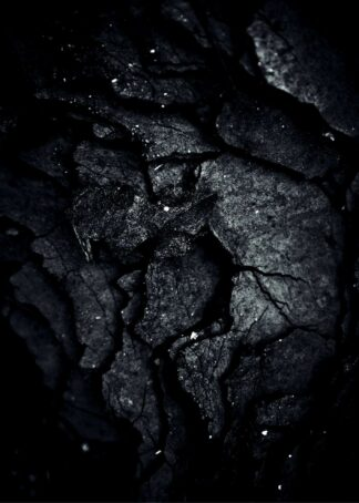 Rock surface monotone poster