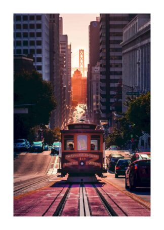 Cable car at Van Ness Avenue