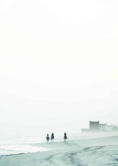 Mist in the sea poster