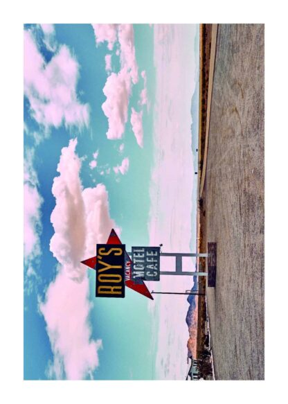 National trails highway of U.S. route 66 poster