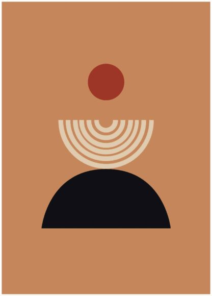 abstract shape #17 poster
