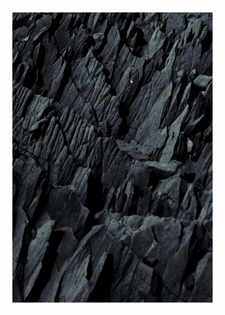 Rocky surface poster