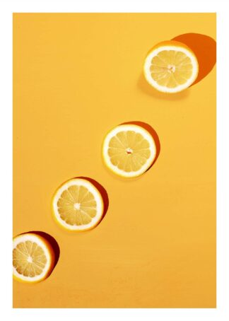 Lemon slices poster