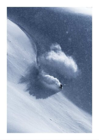 Snow boarding 2 poster