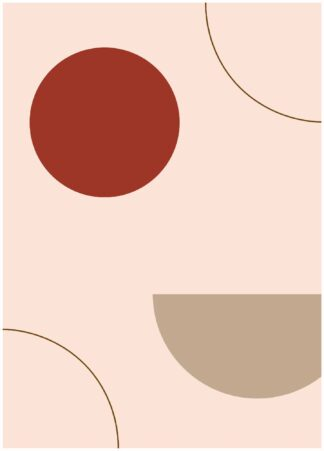 Abstract shape #38 poster