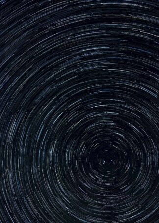 Star time lapse poster