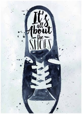 Its all about the shoes poster