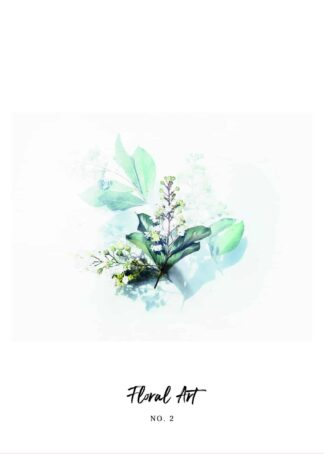 Watercolor flower No.2 poster