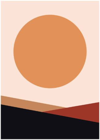 Abstract shape #19 poster